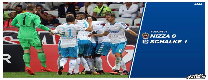 Nice - Schalke - Reakcie