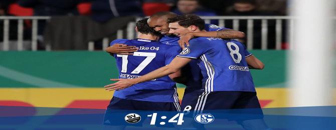 DFB Pokal - Osemfinále