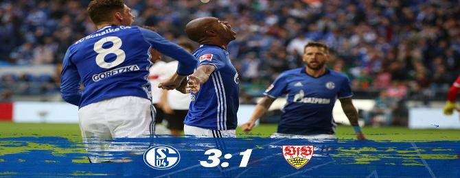 3.Kolo Bundesligy 3-1 Stuttgart