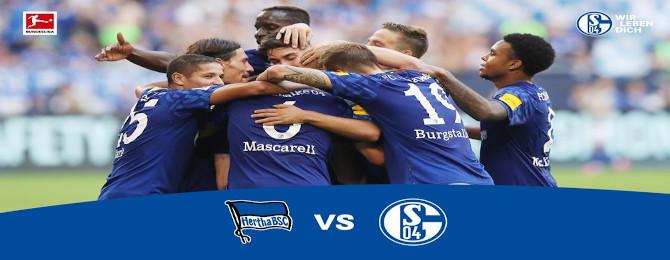 20.kolo Bundesligy - Hertha dejstvo prvé